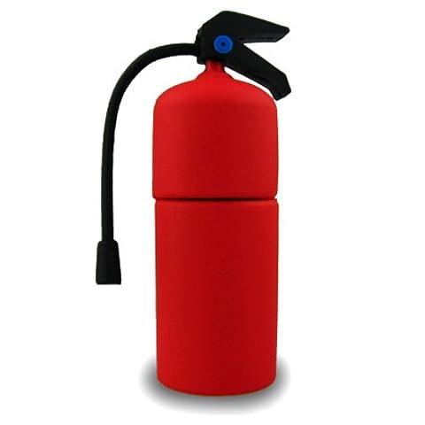 818-Shop No13700050002 Hi-Speed 2.0 USB-Sticks 2GB Feuerlöscher Feuerwehr 3D rot