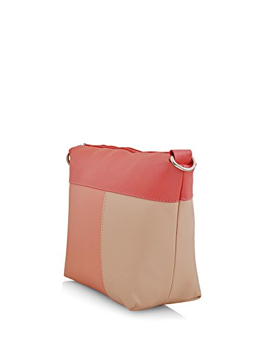 Butterflies Women's Sling Bag (Dark Peach) (BNS 0610DPCH)