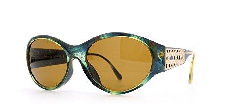 Christian Dior Damen Sonnenbrille grün grün