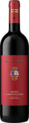 Campogiovanni Rosso di Montalcino (case of 6), Toscana/Italia, red wine