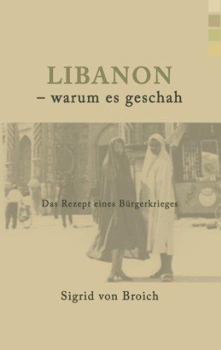Libanon - warum es geschah: Das Rezept eines Bürgerkrieges