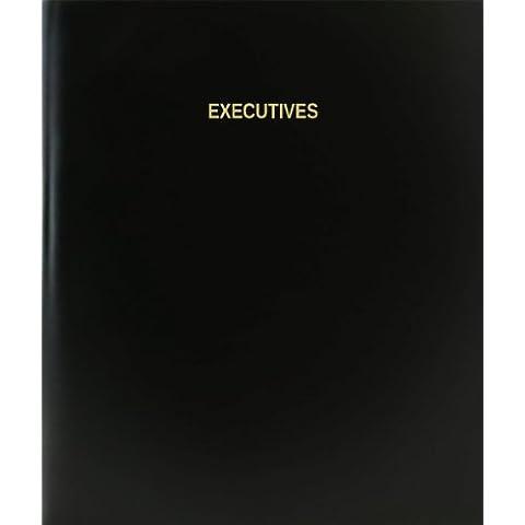 BookFactory® ejecutivos libro de registro/diario/diario página–120, 8,5