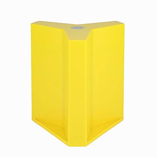 YASHANG Magnetisch Magnet Messer Block, Gute Qualität, Nordischer Stil, Messerstand, Scheren Halter, Kitchen Organizer, Lagerung Ohne Messer (gelb)