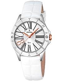 33caf651467c Festina F16929 1 - Reloj de Pulsera analógico para Mujer con Mecanismo de  Cuarzo y
