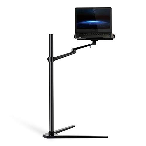 Thingy Club 3-in-1 Laptop-Ständer/iPad Pro 12,9 Zoll/iPad Air/iPad Mini/andere 10,2-14 Zoll Tablets und Smartphones (30,5-43,2 cm) Schwarz