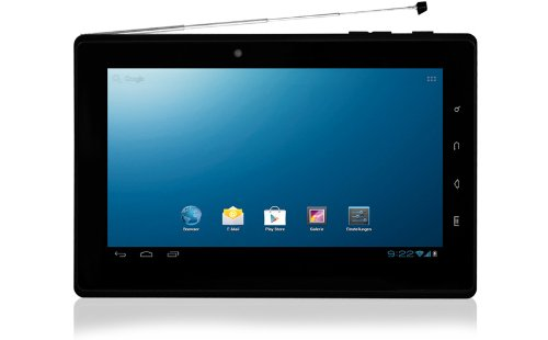 Blaupunkt Endeavour TV seven 8GB Black - tablets (Mini tablet, Android, Slate, Android, Black, Lithium)