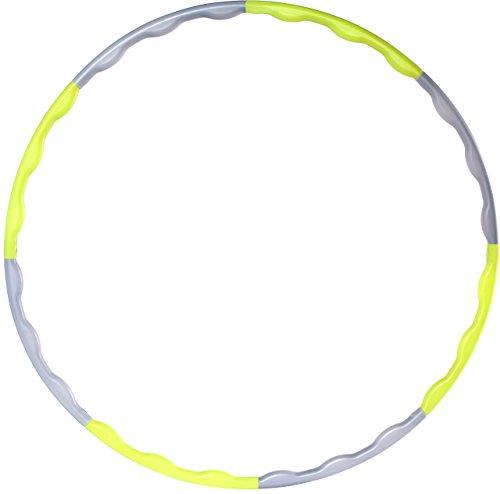 gipfelsport Hula Hoop / Fitness und Gymnastik Reifen, flexibel in Gewicht und Größe - Fitnessgerät Mit Gewichten