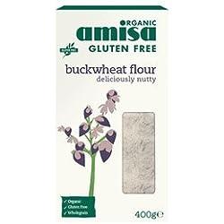 Amisa Organic Gluten Free Buckwheat Flour, 400 G