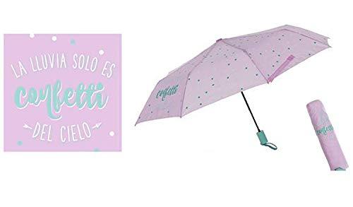 Paraguas plegable frase: