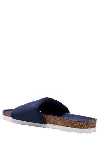 next Sandales Style Piscine En Jersey Standard Femme Bleu