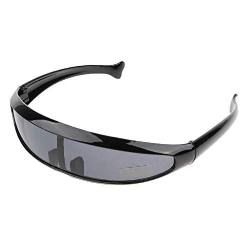 Baoblaze Herren verspiegelt Sonnenbrille Sportbrille Schutzbrille Arbeitsbrille für Alltag Reise Sport - 06