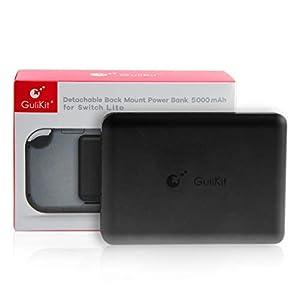 Portable 5000mAh Attached Power Bank für Nintendo Switch Lite, mit Ersatzakku-Ladekoffer, zum Aufladen von Nintendo Switch Lite-Smartphones und -Tablets