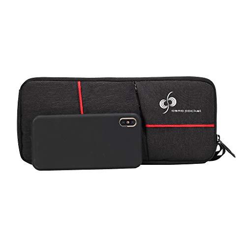 Qomomont Tragbare Drohne Zubehör Handtasche, wasserdichte stabile Gimbal Fall Aufbewahrungstasche Tragetasche für DJI Osmo Tasche - Drucker-fall Tragbare