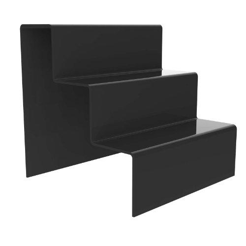 Pinceles para pintura acrílica peldaños Lote de protectores de Displaypro 3 para zócalo de la barra estantería para diseño de cono doble - PoS envío gratuito!