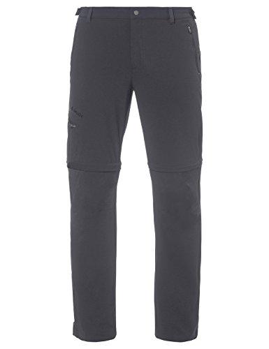 VAUDE Herren Farley Stretch T-Zip Pants II Hose, Grau (iron), 48/S (Short)