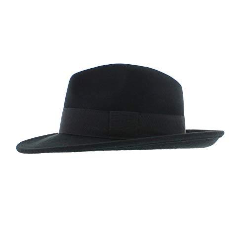 Votrechapeau Smith - Fédora Classique Noir