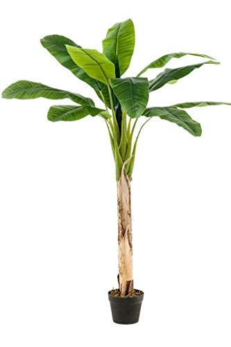 Kunstpflanze Bananenbaum im Topf 150cm