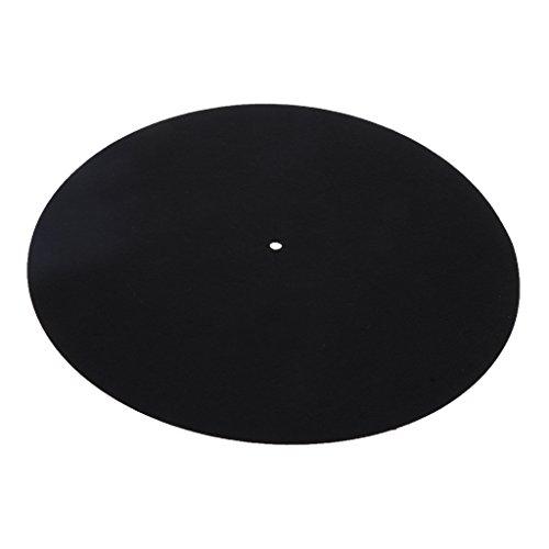 perfk 1 Stück LP Vinyl Plattenspieler Slip Matte, Geeignet für Plattenspieler Vinyl Disc Record Player, Um es Sauber zu Halten.
