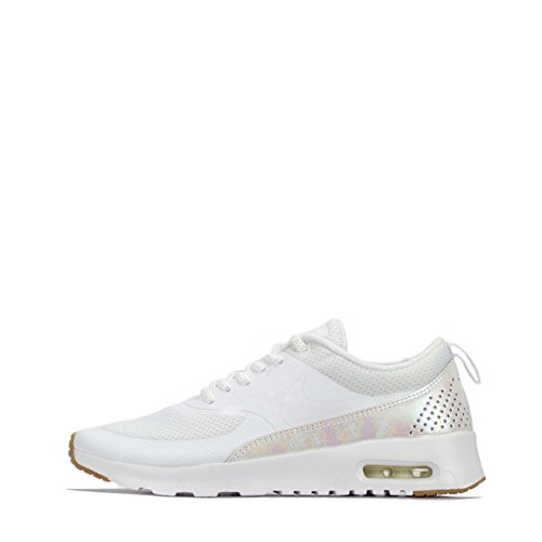Nike Air Max Thea SE (GS), Mädchen Kurzschaft Stiefel, Weiß - White Prism Pink 101 - Größe: 36.5 EU (Nike Stiefel Kinder)