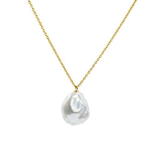 Secret & You Collar Mujer Perlas Cultivadas Keshi