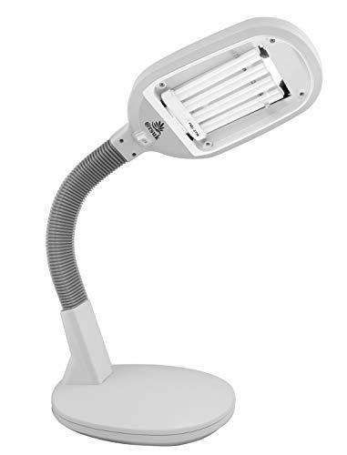 Tageslichtlampe, Schreibtischlampe, natürliches Tageslicht, weiß, energiesparend, zum Lesen oder andere Hobbys