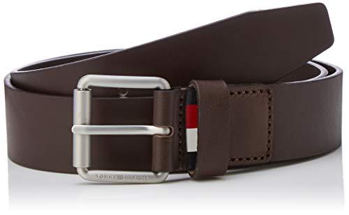 Tommy Hilfiger Herren DOWNTOWN ROLLER BUCKLE BELT 3.5 Gürtel,per pack Beige (TESTA DI MORO 266),100|#100|#676 (Herstellergröße:100)