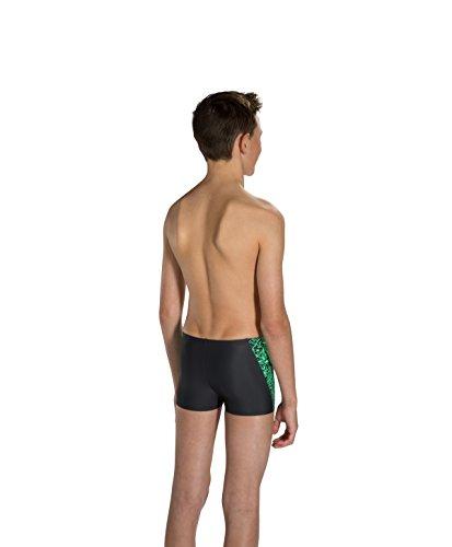 Speedo Boom Splice Short de bain garçon, Enfant, Boom Splice Multicolore (Gris/Vert)
