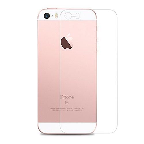 iPhone SE schutzfolie, Danibos 2 x VORDERseite & 2 x RÜCKseite Displayschutzfolie iPhone SE Folie deckt gesamte Front & Edges ab (iPhone SE) - 3