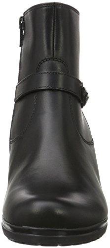 Gabor Shoes 52.984.57 Damen Kurzschaft Stiefel Schwarz (Schwarz (micro) 57)