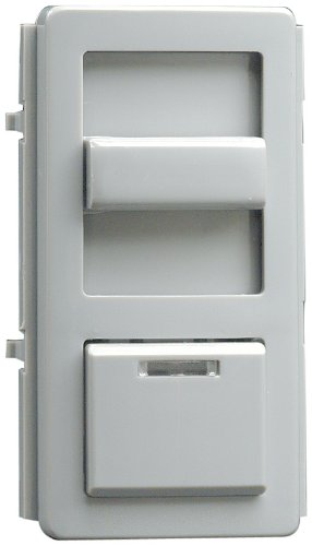 Leviton IPKIT-G Color Change Kits For IllumaTech Dimmer, Gray by Leviton Leviton Dimmer