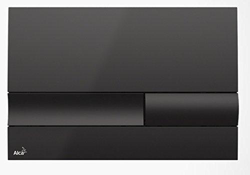 Drückerplatte für WC Vorwandelemente WC-Spüle Farbe Schwarz 3L/6L Betätigungsplatte Platte Betätigungstaste