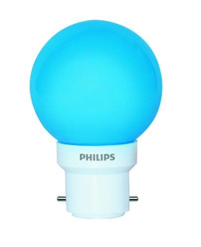 Philips Deco Mini 0.5-Watt B22 Base LED Bulb (Blue)  available at amazon for Rs.60