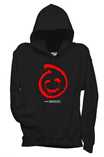 FELPA THE MENTALIST RED JOHN-SERIE TV by MUSH Dress Your Style - Donna-M-NERA