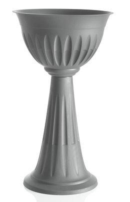 Bama Alba Fleur Tasse, 30 x 43 x 46 cm, Gris, 30x43x74.5 cm