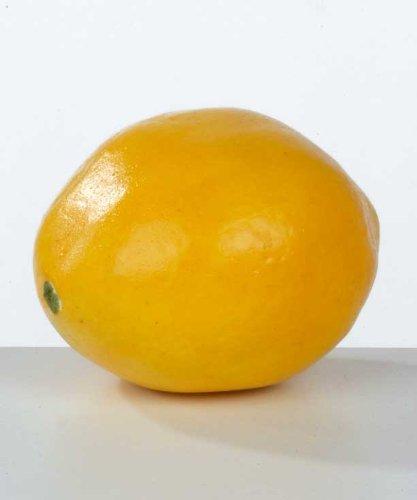 Deko-Zitrone 8 x 5,5 cm (Länge x Durchmesser)