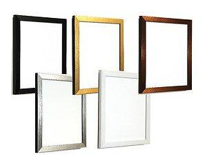 Tailored Frames - Bilderrahmen gebürstet (2er Pack) - Silber - 14