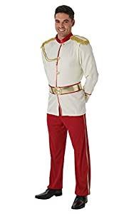 Disney - Disfraz de Príncipe de Cenicienta para hombre, Talla única adulto (Rubie