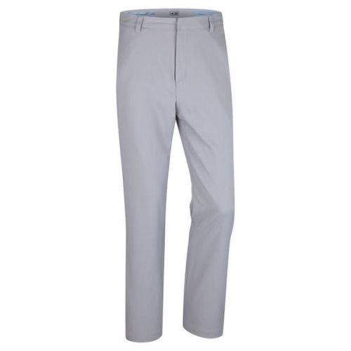 Adidas Golf Puremotion Elasticizzati 3-righe Pantaloni (Nero / Vista Grigio) - Mid Grigio/Vista grigio, 32W x 34L - Gamma Vista
