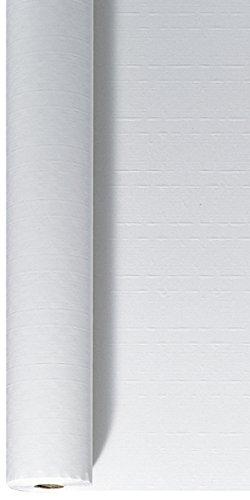 Duni Tischdeckenrolle aus Papier Uni weiß, 1,2 x 25 m