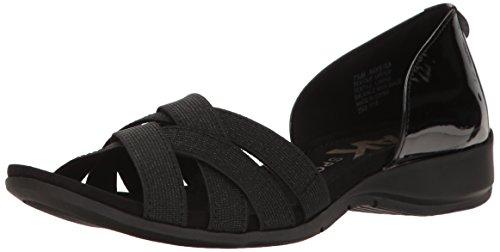 anne-klein-sport-keira-femmes-us-8-noir-sandale-de-sport