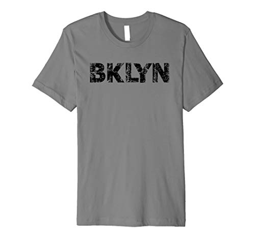 Brooklyn NYC T-Shirt BKLYN slang shirt Cool Grunge Brooklyn