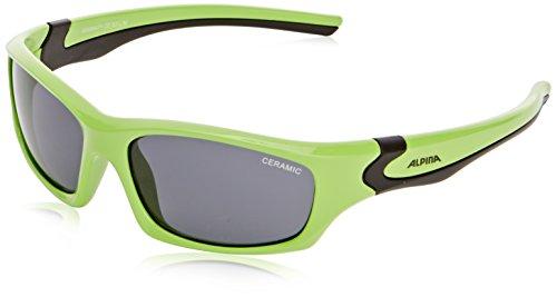 Alpina Kinder Sonnenbrille FLEXXY TEEN, green-black, A8496471