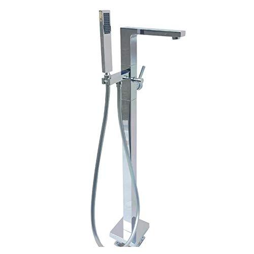 Hand gehalten Bodenmontage, einstellbare Wassertemperatur, Außen- oder Badezimmerdusche dauerhaft (Bath & Shower Faucet Type : Exposed B+amp; S Faucets)