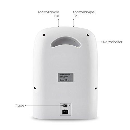 luftentfeuchter amzdeal 700ml 24s raumentfeuchter gegen. Black Bedroom Furniture Sets. Home Design Ideas