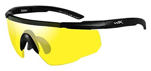 Wiley X Saber Advanced Smoke Grey/Yellow Matte Black