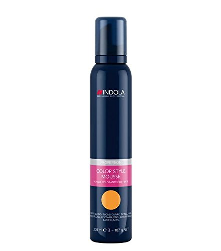 Indola Color Style Mousse pearl grau, 1er Pack, (1x 200 ml)