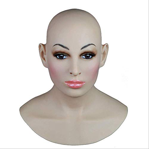 TWO Sexy Silikon Maske Frauen Pretty Halloween Weihnachtsmasken Angel Face Cosplay Male Zu Frauen Für Crossdresser Transgender Shemale Mit Safe Medical Grade Silikon Rubber
