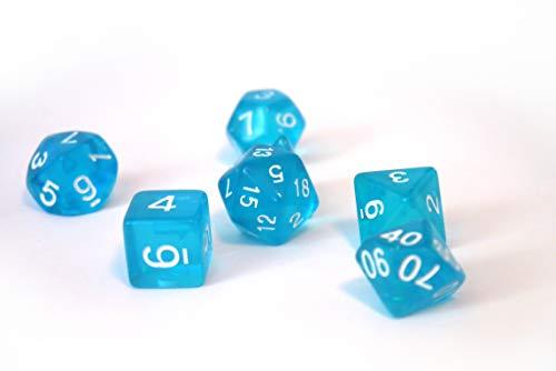 Dice4friends DIC86004 - Cubos para bebé, Color Azul