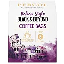 Ra Italian Style Black & Beyond Roast & Ground Coffee Bags by Percol