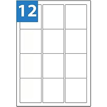 A4 Matt White Address Labels 21 Labels 63.5mm x 38.1mm 21TV LL21 L7160 J8160 Compatible 100 Sheets Stickers WTP